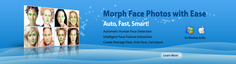 Morph Face Photos with Ease