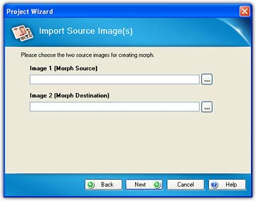 Import Source Images